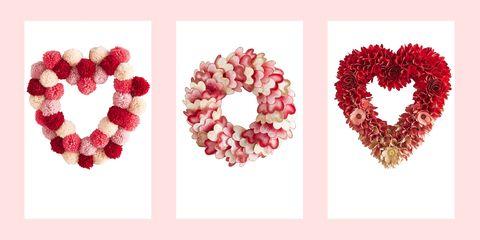 Valentine Wreath Ideas 20 Valentine S Day Wreaths Valentine Wreaths