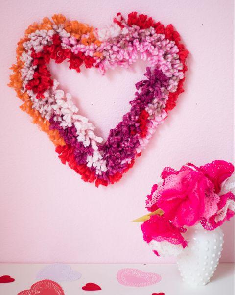 33 Diy Valentine S Day Wreaths Homemade Door Decorations