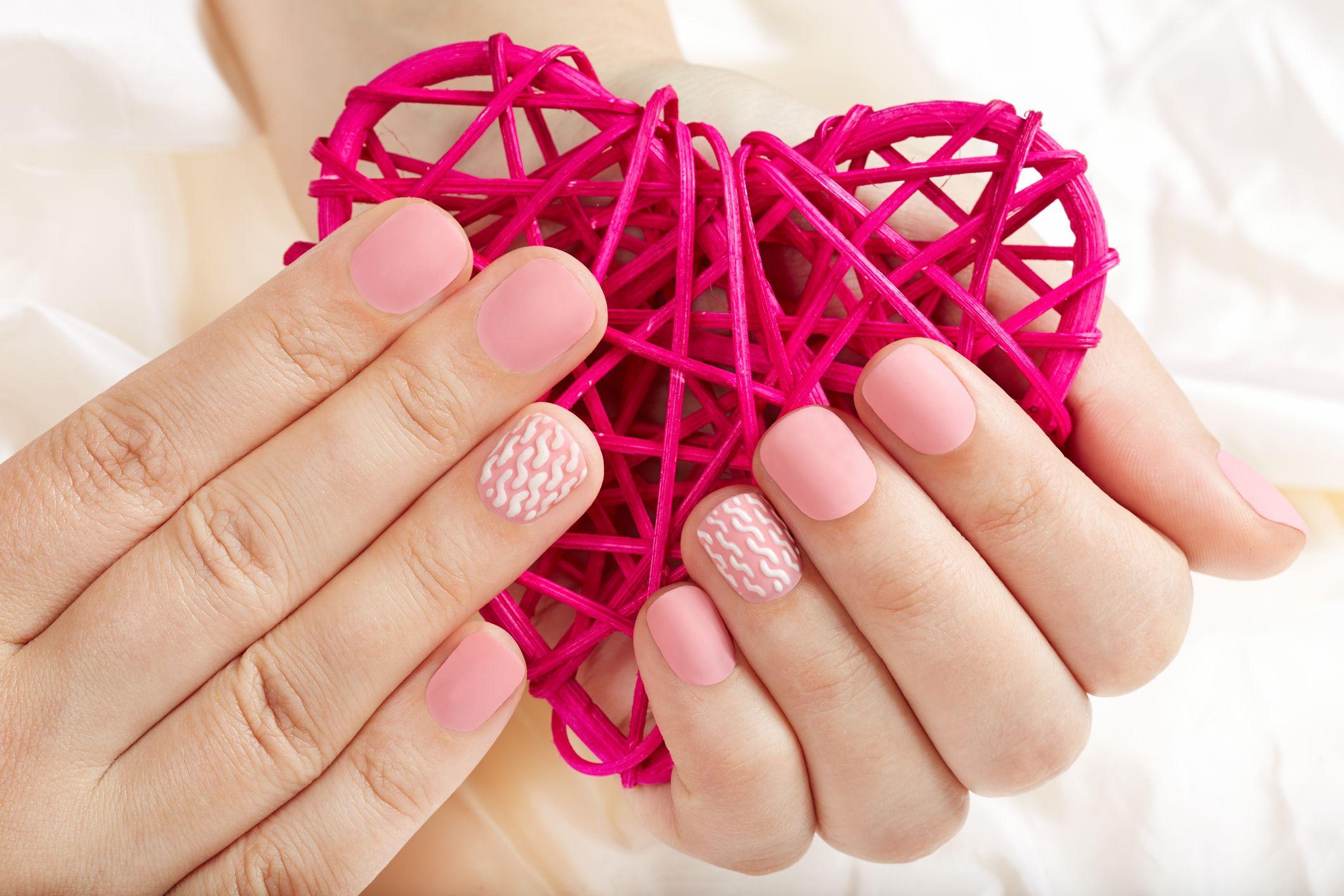 32 Best Valentine\u0027s Day Nail Designs , Cute Nail Design