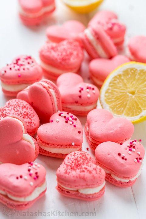 valentines treats macarons