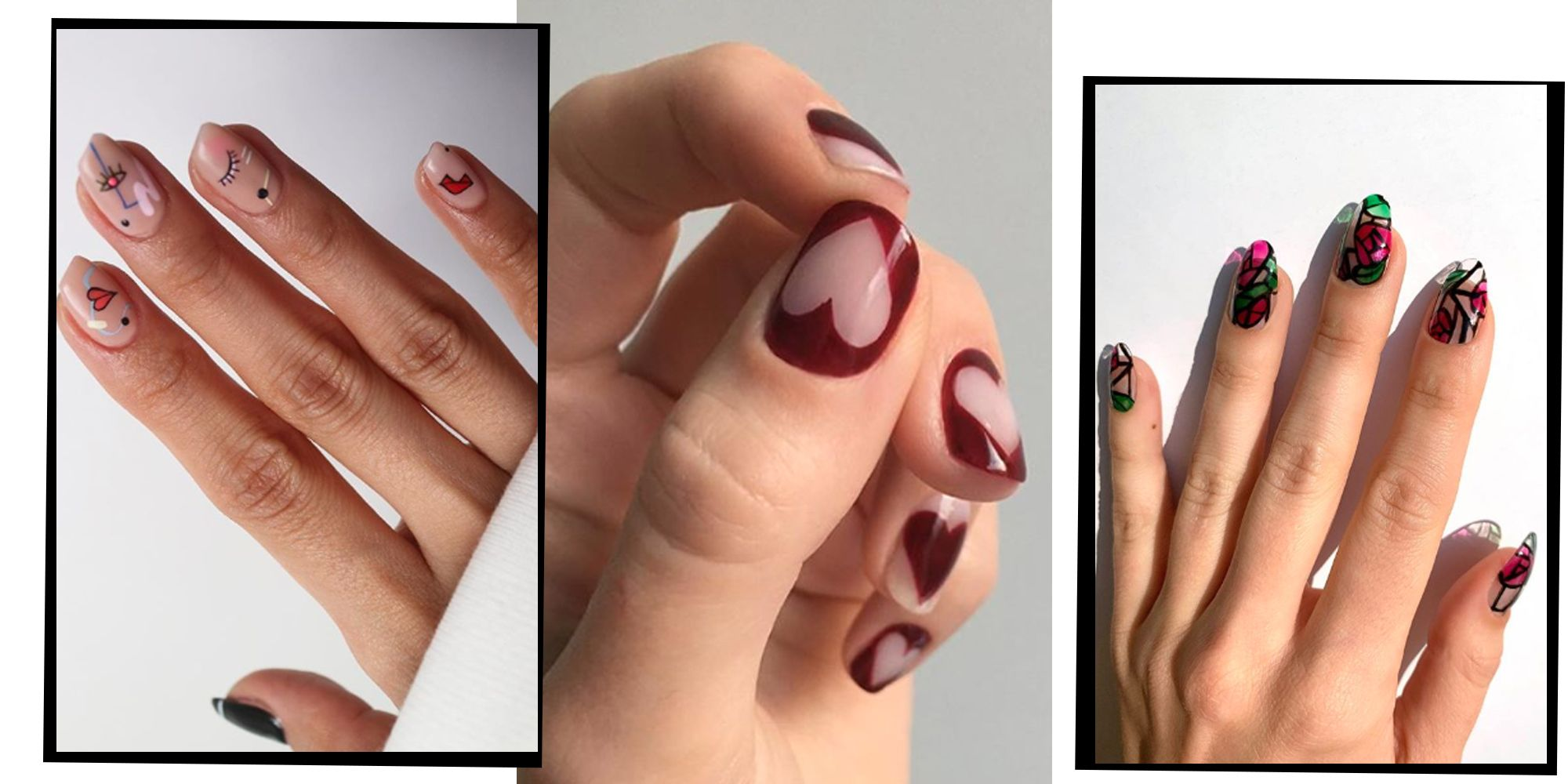Valentine\u0027s Day 2020 14Nail Art Designs To Try At Home