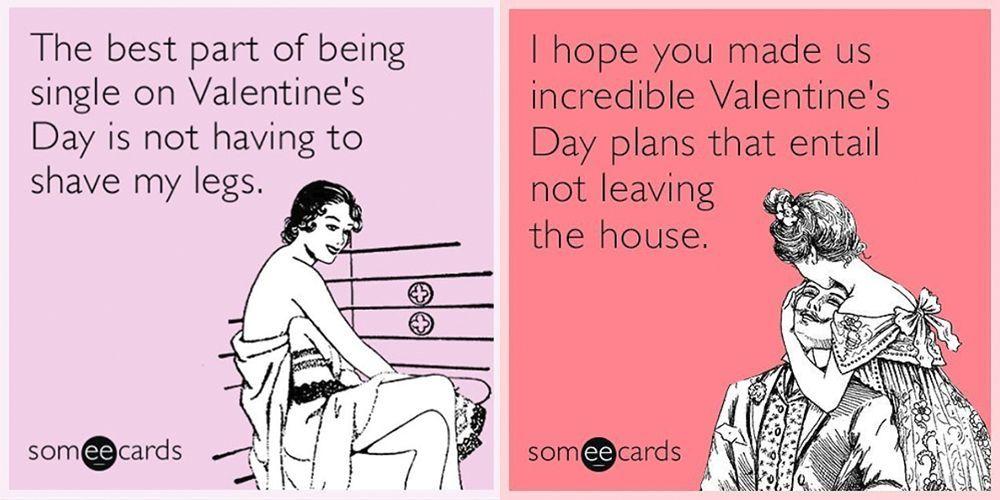 25 гениальных мемов ко Дню святого Валентина, которые заставят вас смеяться