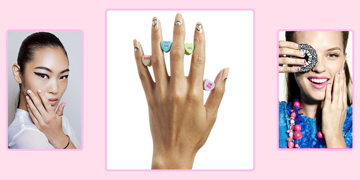 22 Super Cute Valentine's Day Nail Designs You Can DIY