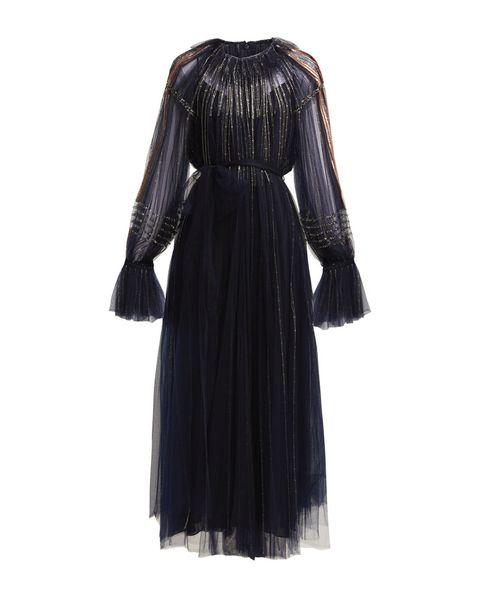 meghan markle valentino black dress