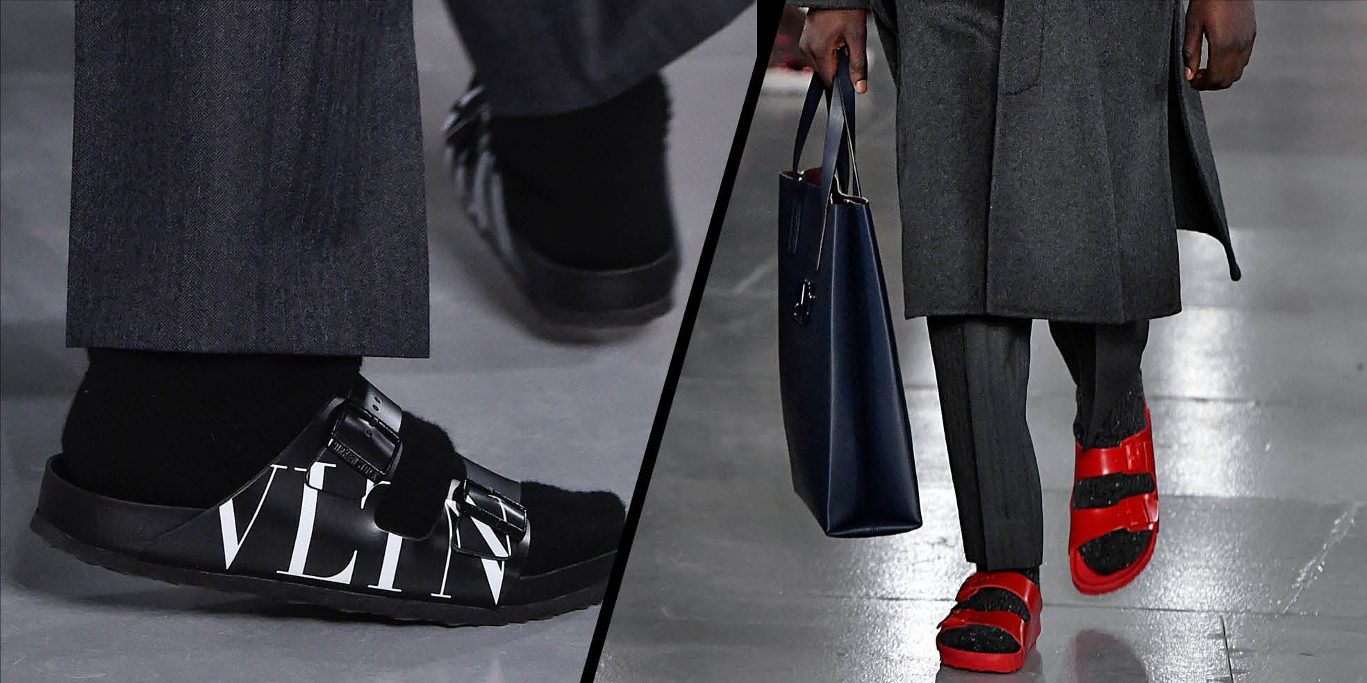Valentino Has Given Birkenstocks A High-Fashion Spin