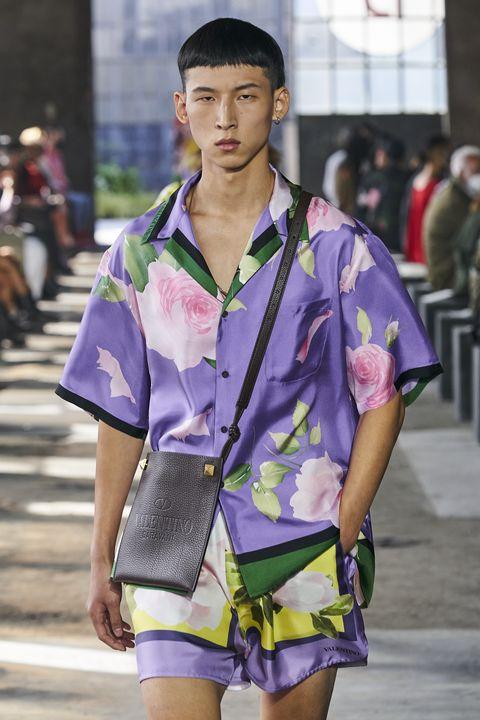 camisa flores para hombre primavera 2021