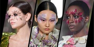 Valentino couture spring/summer 2019 beauty look