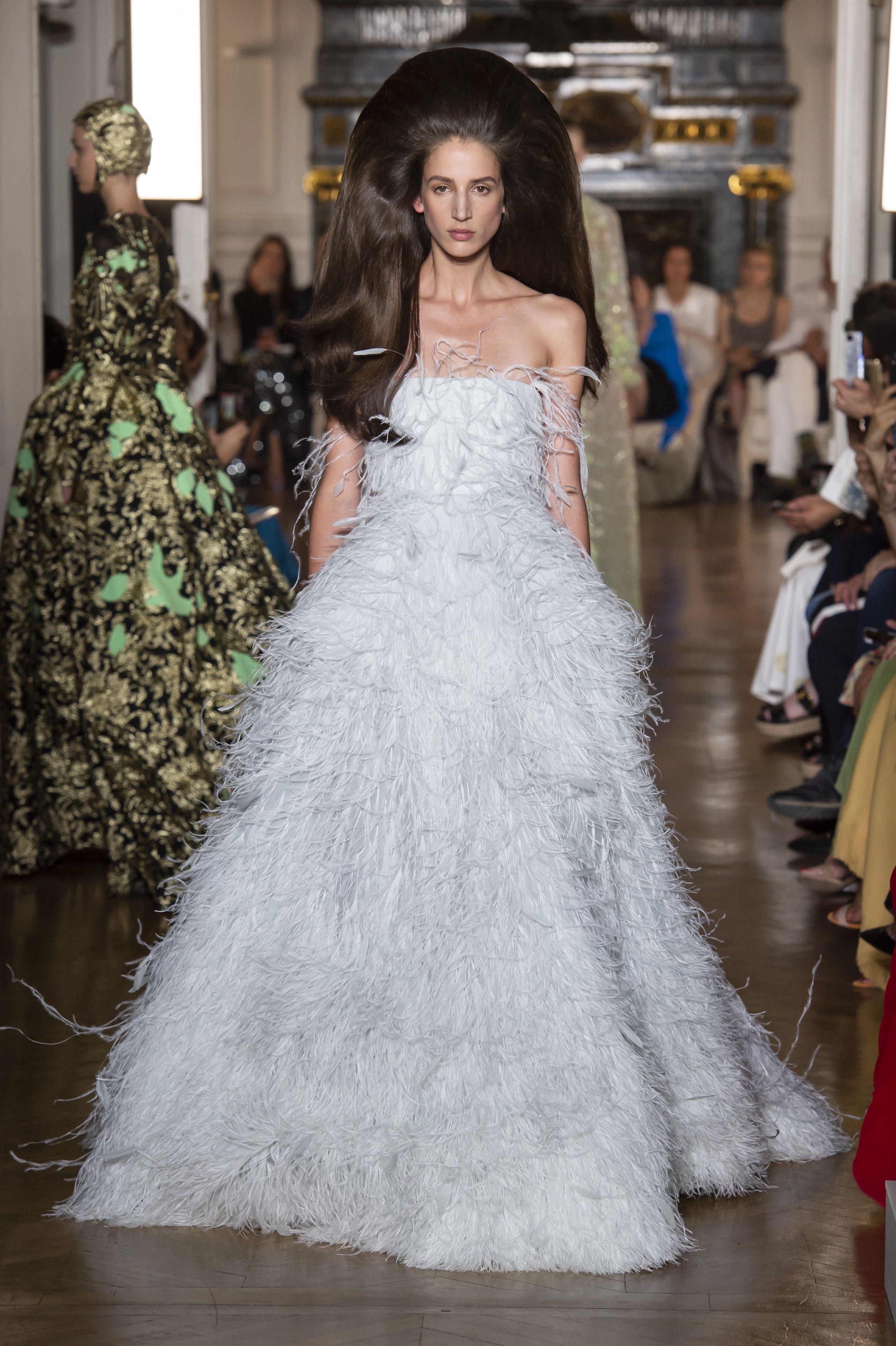 Modelli Dall'haute Da Abiti Couture Parigi Sposa E Tendenze Di 2019 tqgPwYg