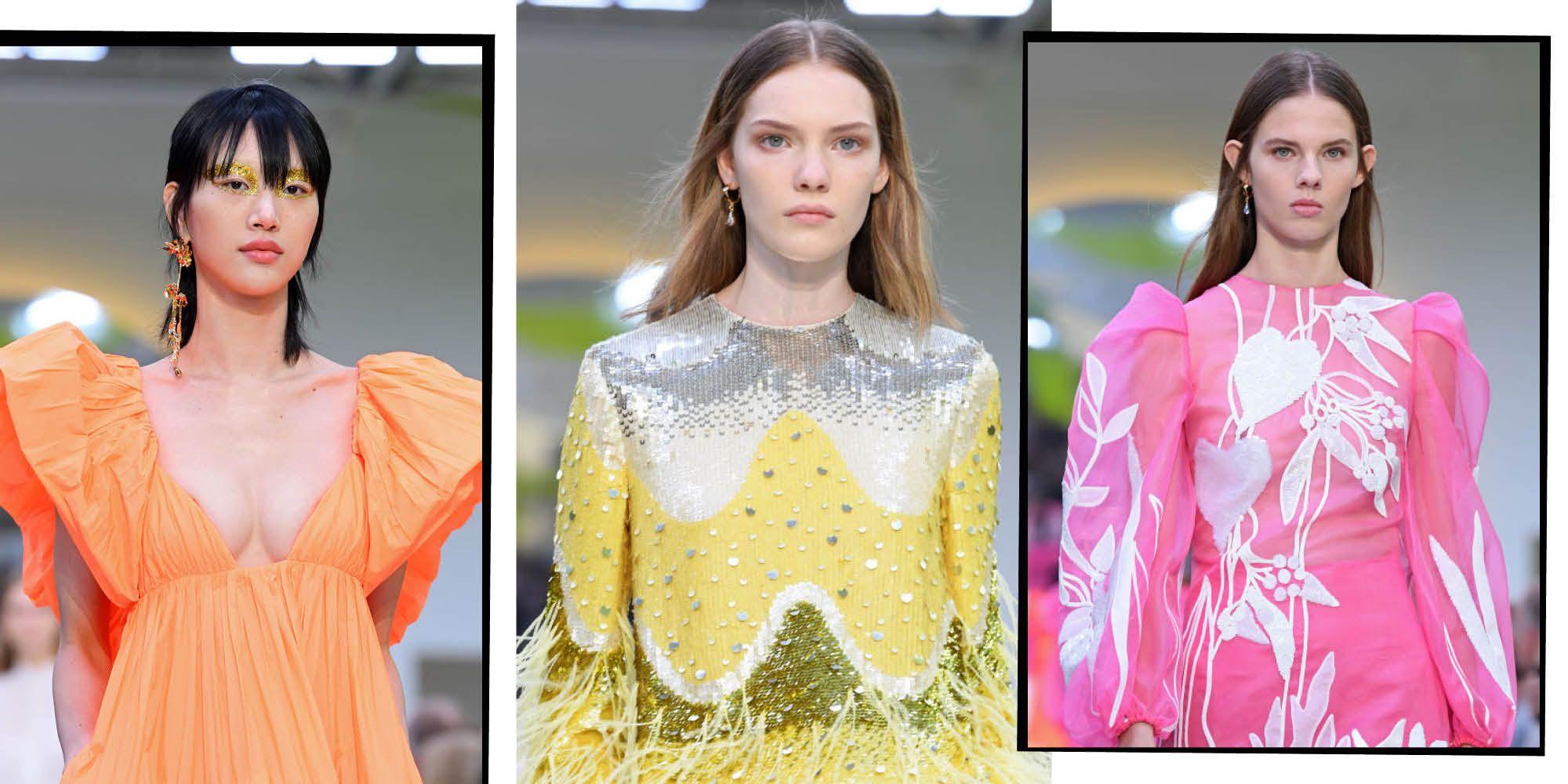 Valentino's Pierpaolo Piccioli Brings Fun And Flounce Back To Eveningwear