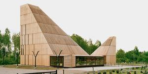 Binnenkijken bij deze hypermoderne kerk uit Noorwegen