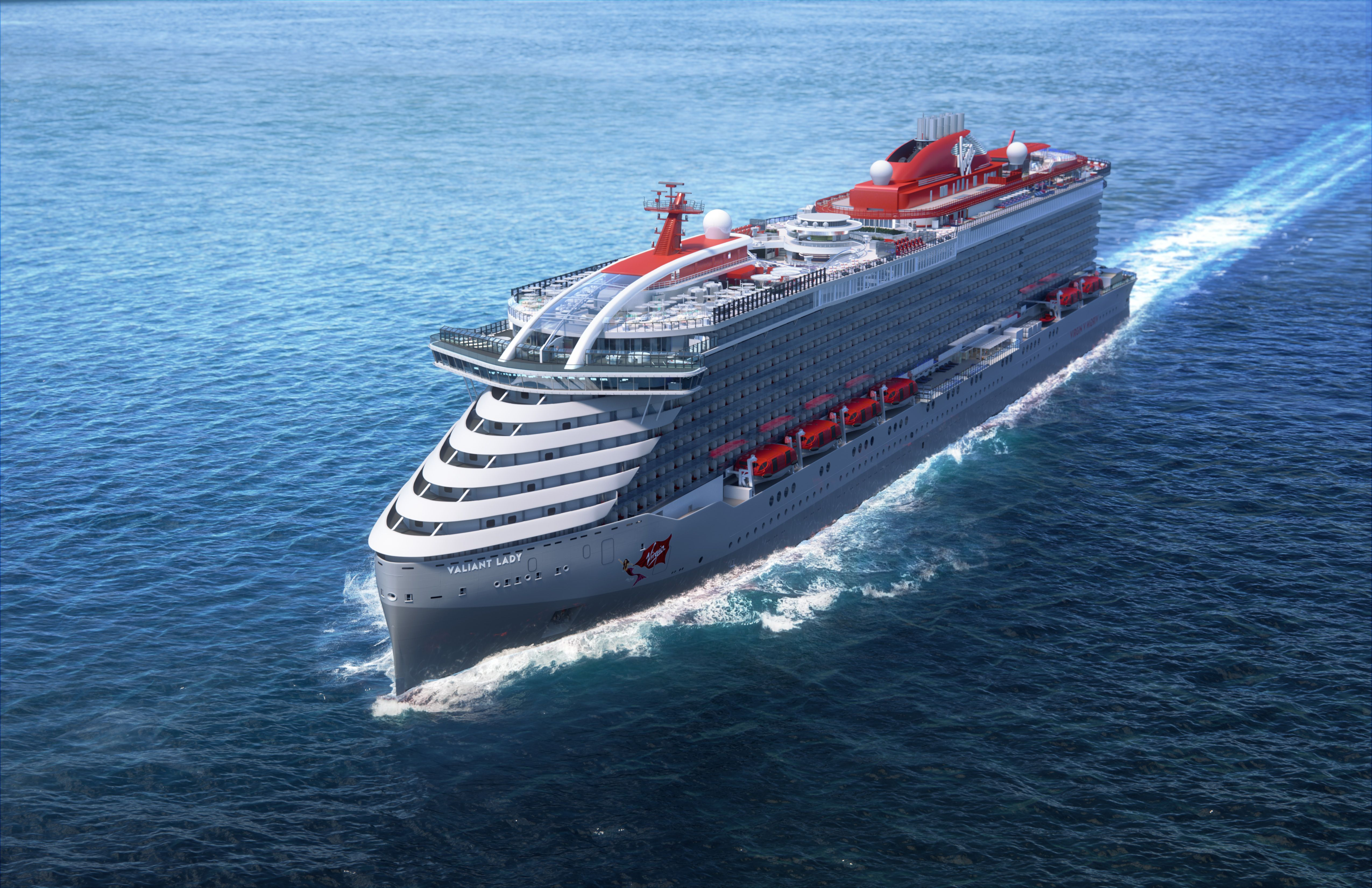 Here's a First Look at Virgin's Next Adults-Only Cruise Ship, the Valiant Lady