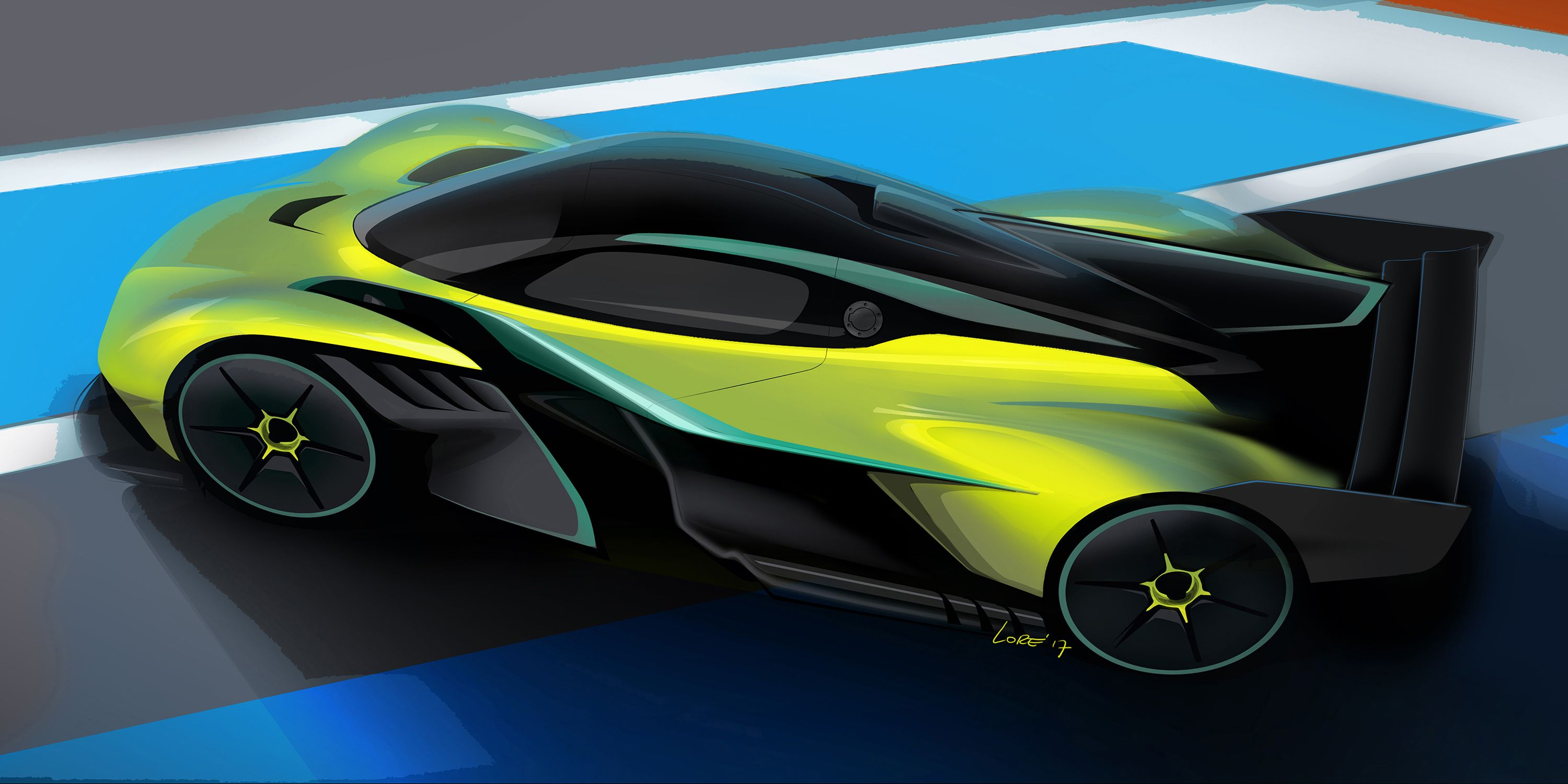 aston martin says the 250-mph valkyrie amr pro will be as fast as a