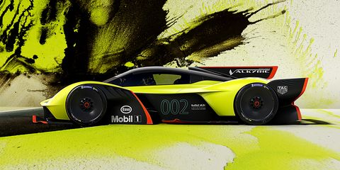 24af2ca9df1 Red Bull Could Run Something Based on the Aston Martin Valkyrie at ...