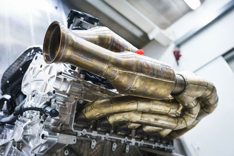 Aston Martin Valkyrie V 12 Engine By Cosworth Explained