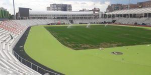 Vallehermoso ya tiene su pista verde: las líneas se pintarán la semana que viene