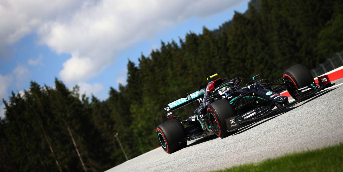 Mercedes Dominates F1 Qualifying in Austria