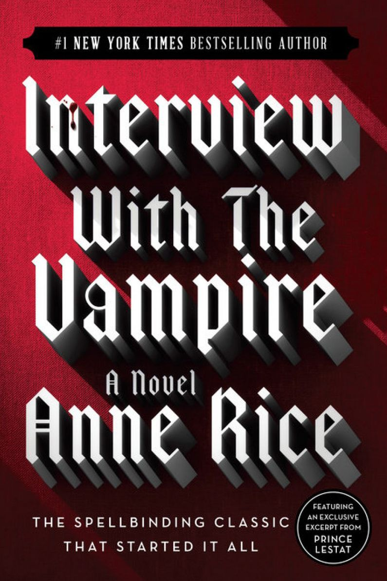 vampire books - interview with a vampire the vampire chronicles
