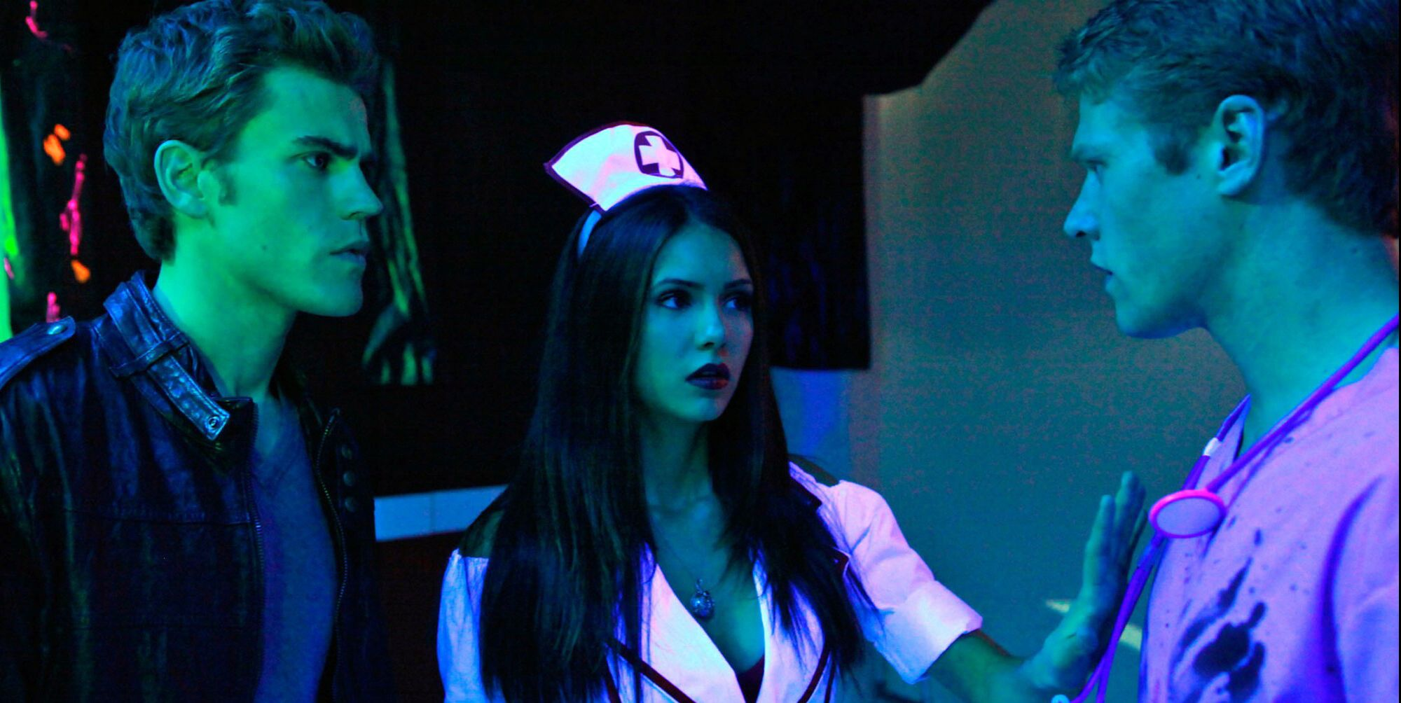 vampire diaries haunted the cw halloween