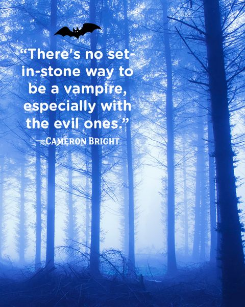 spooky forest vampire quotes