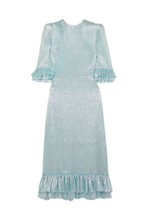 Clothing, White, Dress, Day dress, Turquoise, Aqua, Sleeve, Lace, Textile, Cocktail dress,