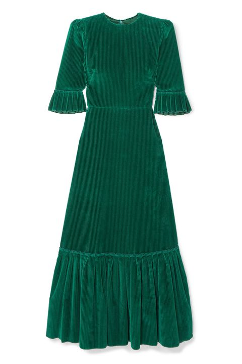 Bridesmaid trends, green dresses