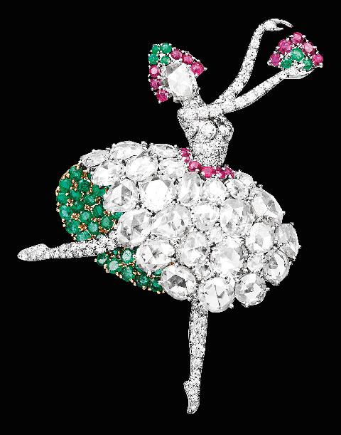 像把袖珍舞台捧在手心!5點認識van cleef  arpels與芭蕾舞伶的最美相遇!