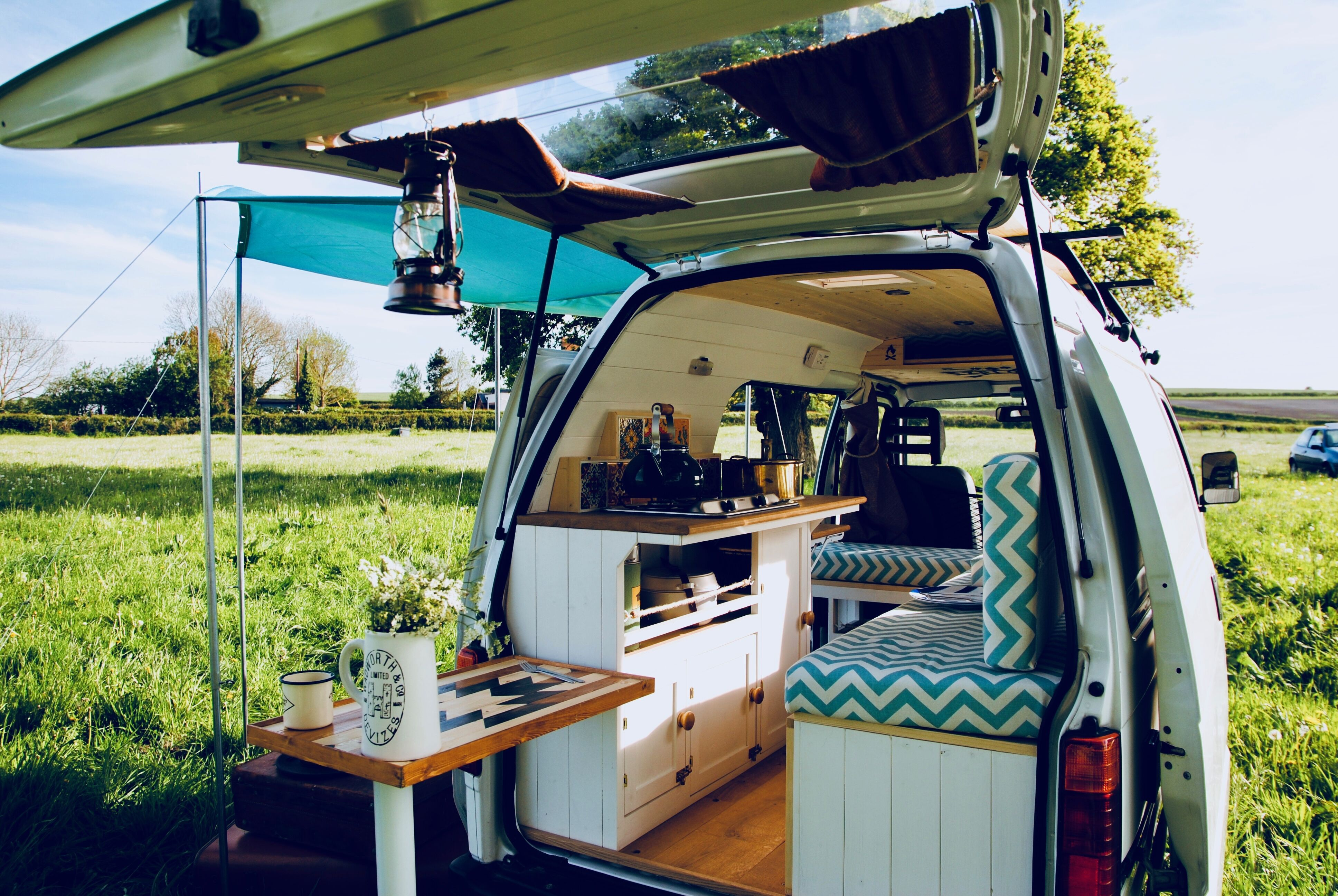 How Newlyweds Turned a Van into the Cutest Tiny Home Ever