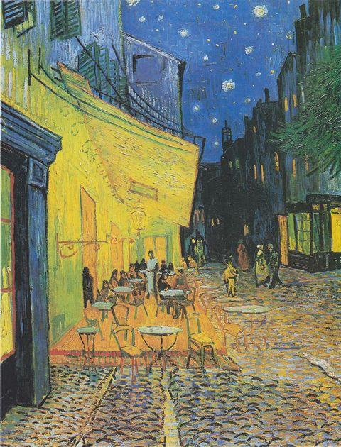 Vincent van Gogh:Terraza de café por la noche