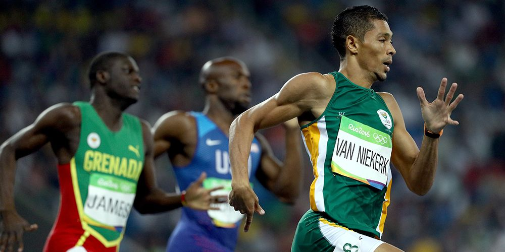 Men's 400 Meters: South African Wayde van Niekerk Shatters