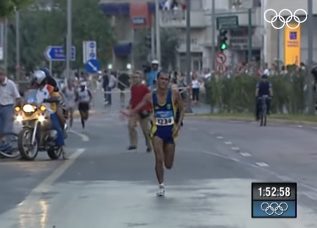 vanderlei lima athene 2004 marathon