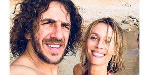 La pareja, como cada año,llegó a las Islas Baleares junto con sus hijas, María y Manuela,para disfrutar del verano entre Ibiza y Formentera.