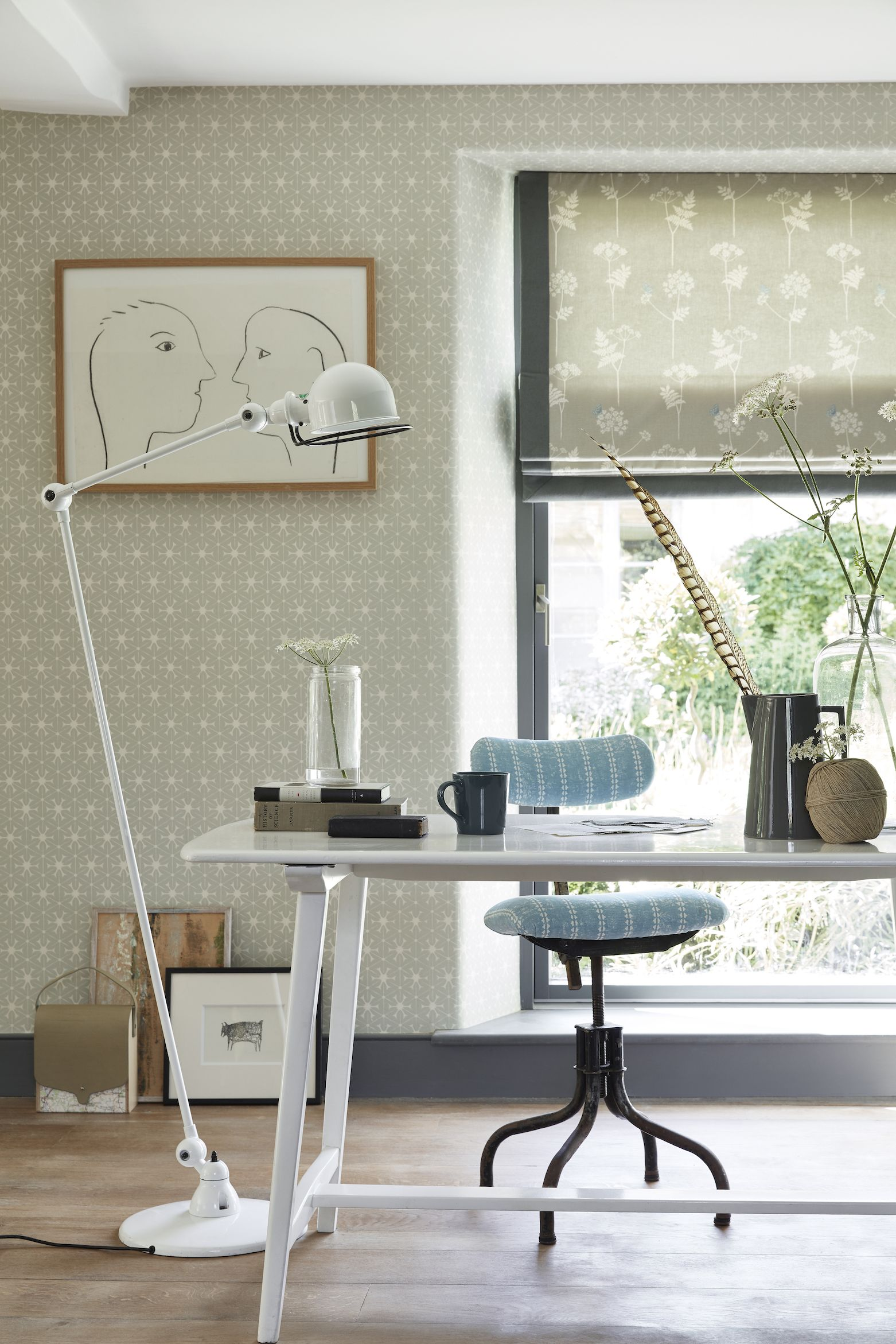 Cow Parsley print is the perfect way to brighten up your home for summer