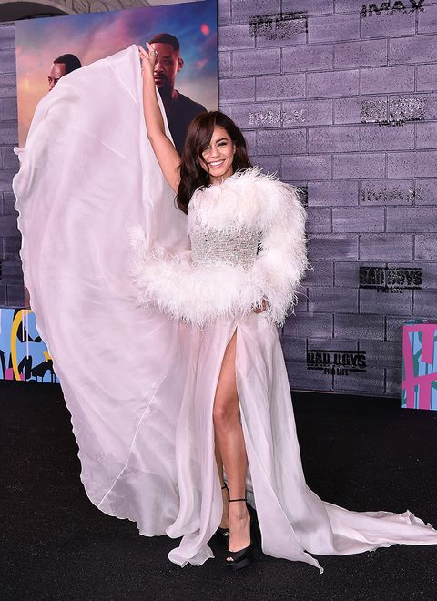 Vanessa Hudgens white dress bad boys