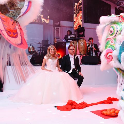 45a9bc16c Inside Michael Chow and Vanessa Rano's Los Angeles Wedding