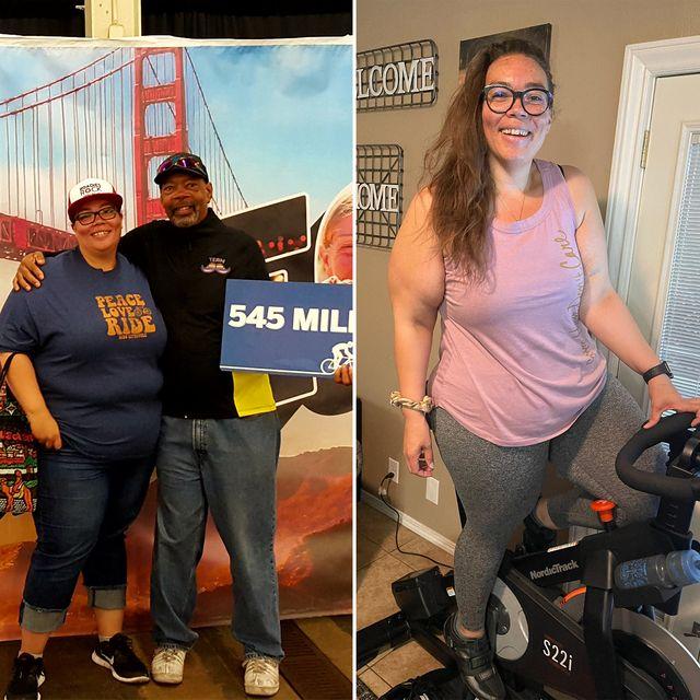 vanessa saavedra cycling weight loss