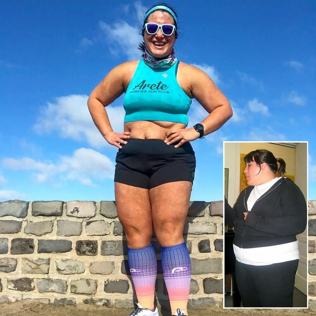 She Started Running and Overhauled Her Eating Habits—and Lost Over 50 Pounds