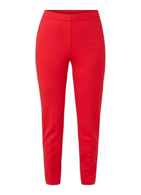 Clothing, Red, sweatpant, Active pants, Trousers, Sportswear, Leggings, Waist, Pocket,