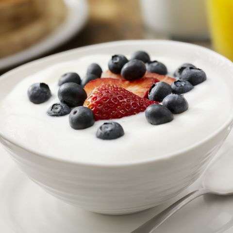 Vanilla Yogurt with Fresh Fruit