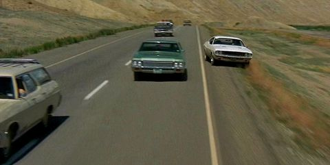 vanishing point road pursuit