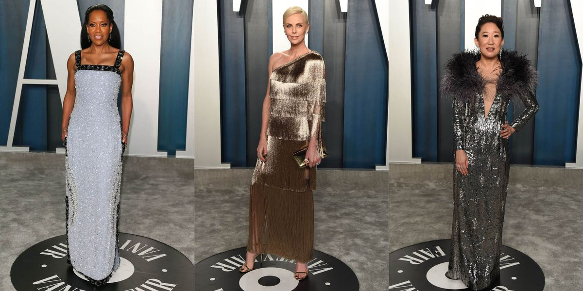 All the best Oscars after-party dresses