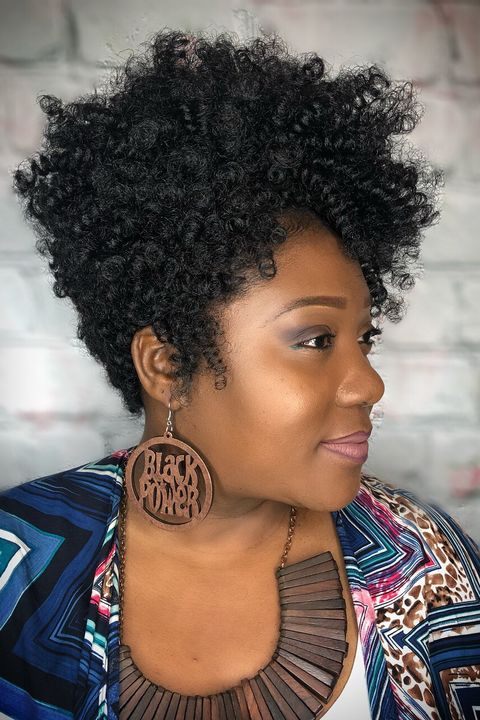 Black Hai Short Haircuts Curly For African American Women