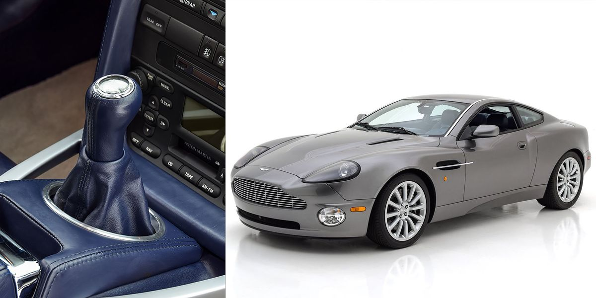 Factory Converted Manual Aston Martin Vanquish For Sale