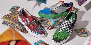 vans marvel ,vans,marvel , zapatillas marvel, zapatillas superheroes,vans marvelzapatillas