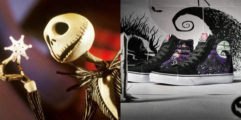 vans nightmare before christmas sneakers