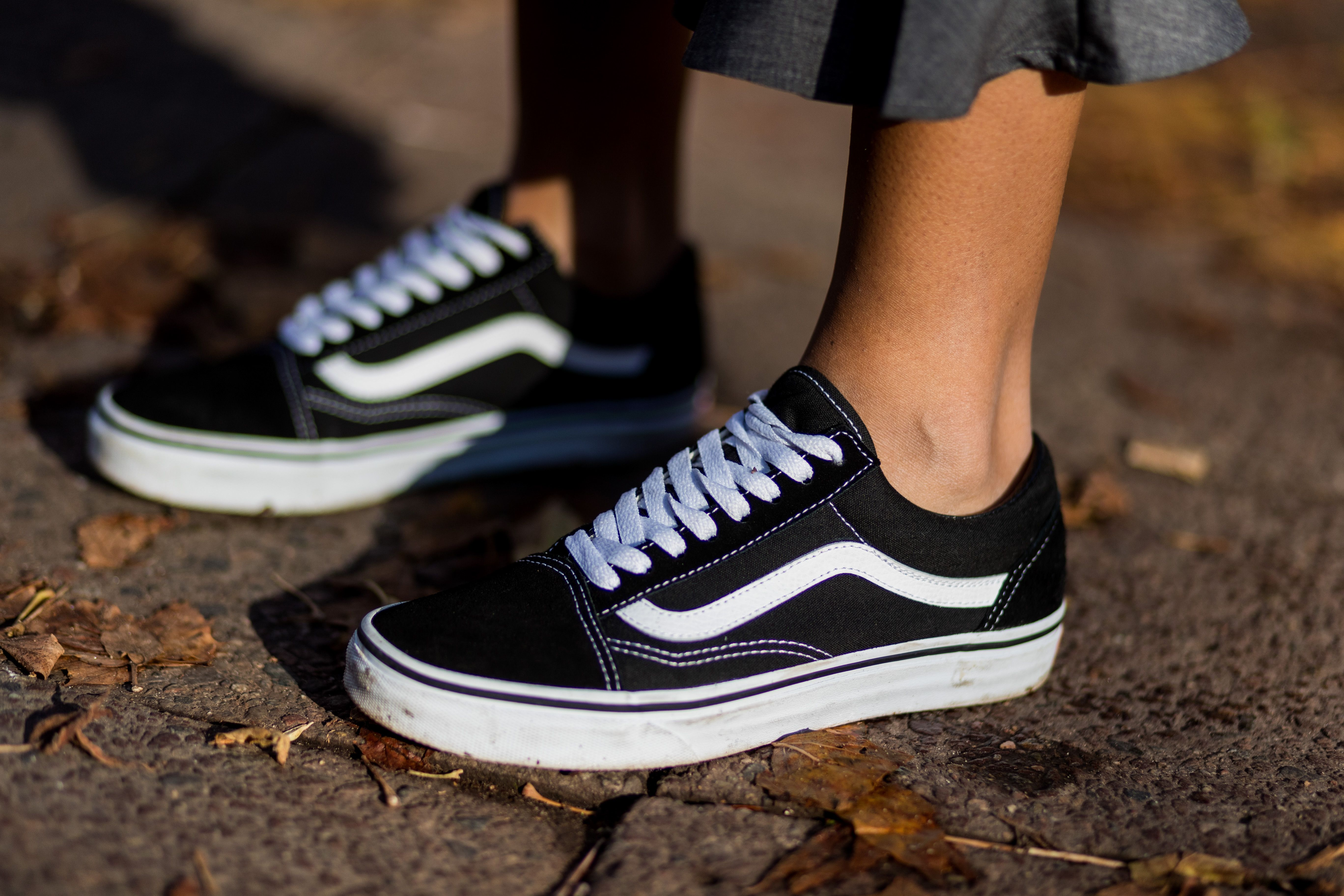 old skool vans blu estate