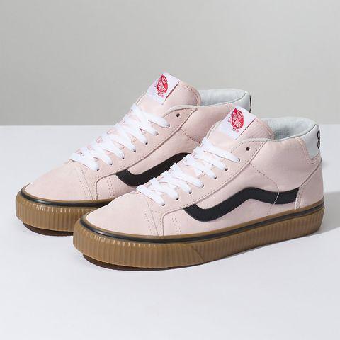 62e3fa61b41 Vans Power Pack Mid Skool Sneaker in Heavenly Pink