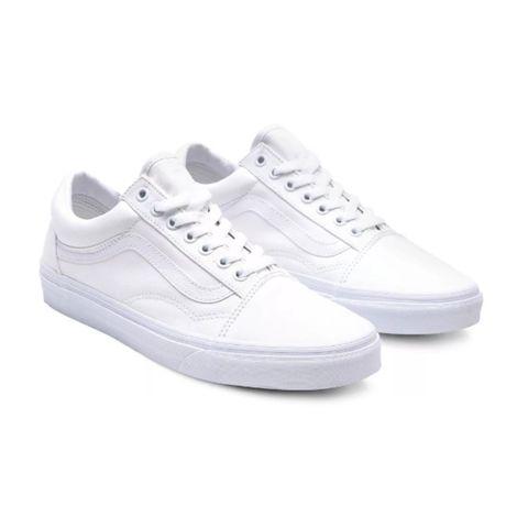 vans zapatillas blancas hombre old skool