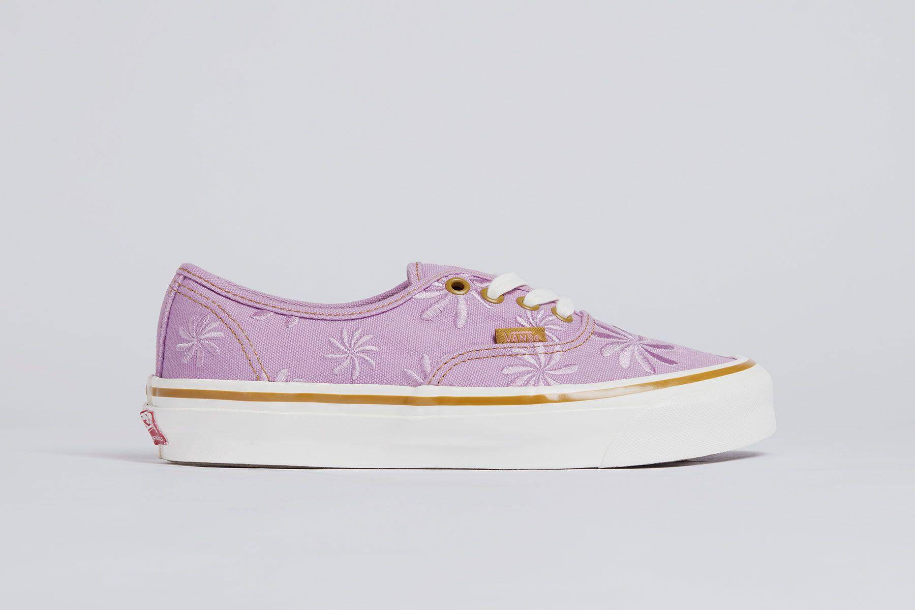 Las Vans lila son las únicas que te querrás calzar esta primavera