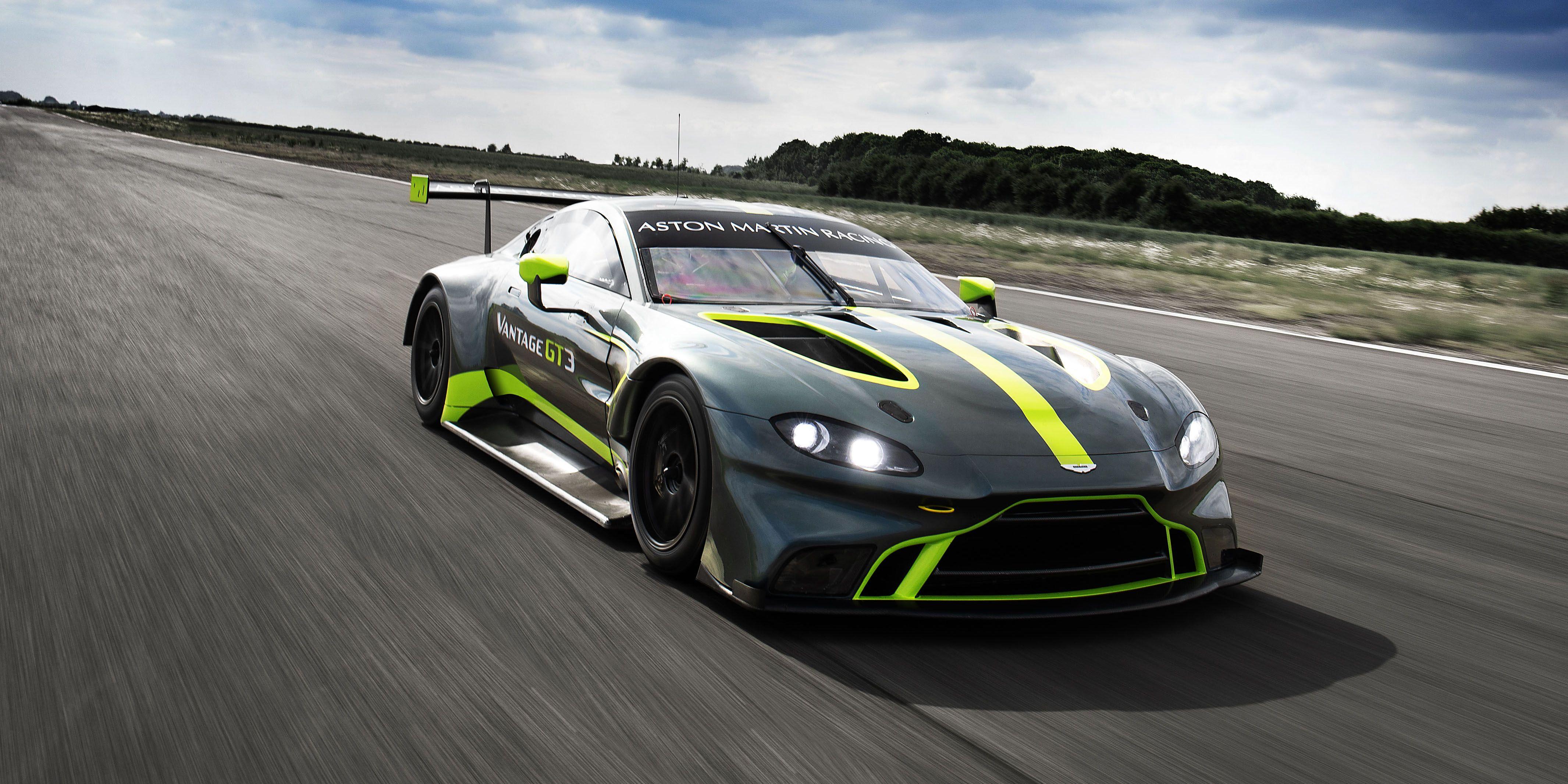 No Surprise, Aston Martin's New Race Cars are Wonderful
