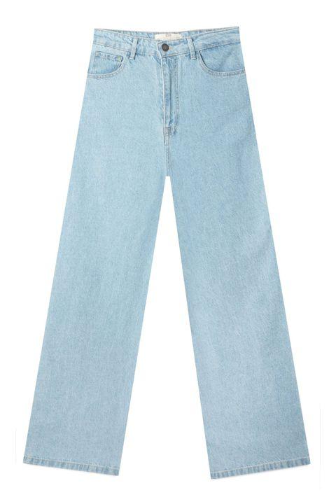 zara, stradivarius y mango tienen los vaqueros anchos que van a conseguir que vayas cómoda pero con estilazo despídete de los 'jeans' pitillo hasta por lo menos final de temporada